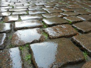 Pavers, Walkways, Driveway, Stone, Wet stone,